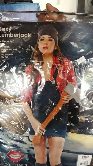 lumberjack costume for Sale in Franklin Park, IL