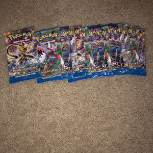 16x Pokémon Break Point Booster Pack for Sale in Clackamas, OR