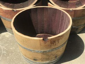 Wine Barrel Planters! for Sale in Seal Beach, CA