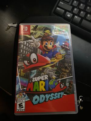 Super Mario Odyssey Nintendo Switch Game Sell/Trade for Sale in Phoenix, AZ