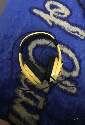 Pickachu headphones for Sale in San Francisco, CA