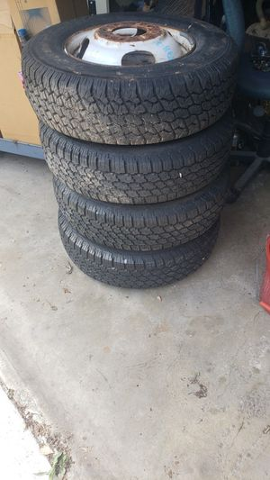 All position Radials + Rims 8.75 R 16.5 LT for Sale in Maywood, IL