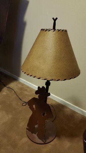 Cowboy lamp for Sale in Tehachapi, CA