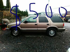96 Chevy blazer with leather 4.3 liter motor for Sale in Port Orchard, WA