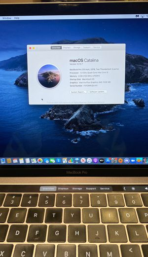 MACBOOK PRO WITH TOUCHBAR for Sale in Glendale, CA