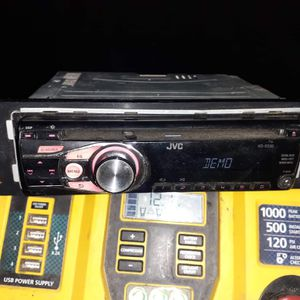 JVC car stereo AUX mp3 for Sale in San Bernardino, CA