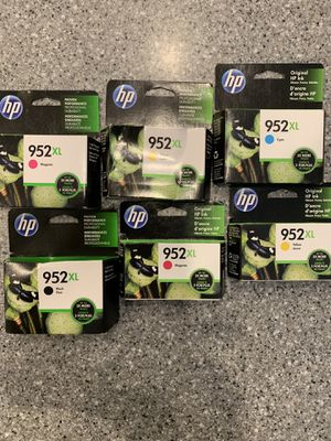 HP 952XL Color set of SIX - $99.00 for Sale in Palm Harbor, FL