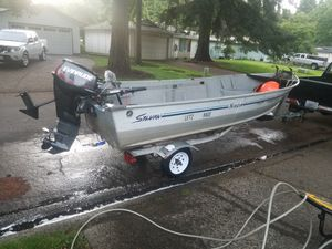 15ft sylvan Yukon aluminum boat for Sale in Vancouver, WA