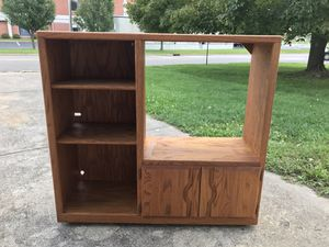 Solid Wood Entertainment Center for Sale in Lancaster, OH