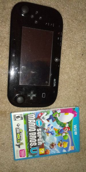 Nintendo wii u all cables 1 game for Sale in Tracy, CA