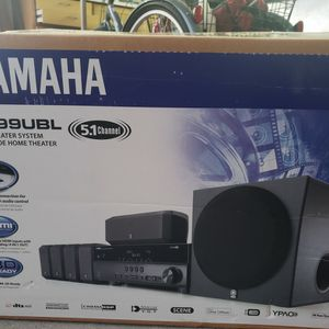 Yamaha Home Theater Sound System New In BOX YHT 399UBL for Sale in Los Angeles, CA