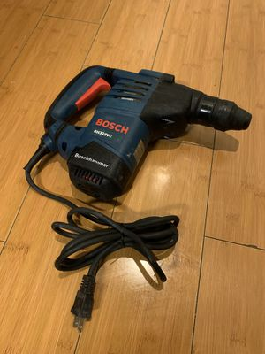 Bosch 8 Amp 1-1/8 in. Corded Variable Speed SDS-Plus Concrete/Masonry Rotary Hammer Drill with Depth Gauge and Carrying Case for Sale in South Gate, CA