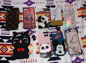 I phone cases. Fits 7/8 plus for Sale in Tacoma, WA