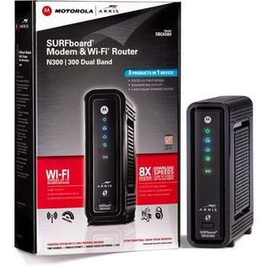 Motorola surfboard SBG6580 Cable Modem WiFi Router for Sale in Buena Park, CA