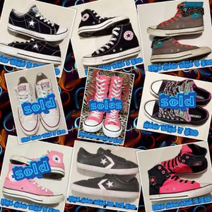 9 Newell light new Converse All Stars sizes on them we have one of each except the ones and Mark sold their sold for Sale in Las Vegas, NV