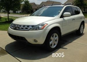 Nothing/Wrong. 2O03 Nissan Murano AWDWheels for Sale in Denver, CO