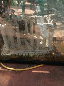 75 $ 100 gallon aquarium with stand like new has lights and filters with it for Sale in Oklahoma City,  OK