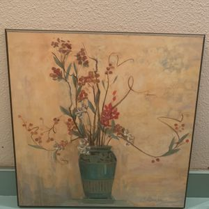 Flower And Vase wall picture for Sale in Federal Way, WA