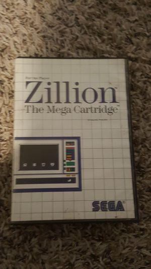 Zillion The Mega Cartridge for Sale in Tacoma, WA