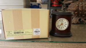 Bombay elephant clock with alarm for Sale in Phoenix, AZ
