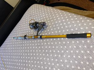 270cm Telescopic Fishing Rod & Reel for Sale in Brooklyn, NY