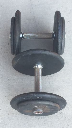30lb Weight Pro-Style Dumbbells Pair for Sale in Las Vegas, NV