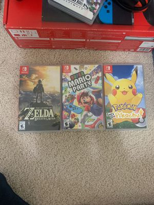 nintendo switch games $35. each for Sale in Damascus, OR