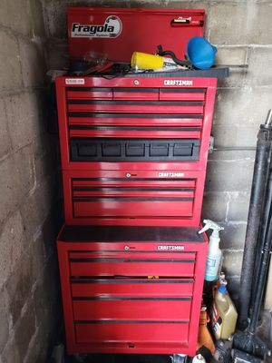 3 PIECE CRAFTSMAN TOOL BOX for Sale in Chicago, IL