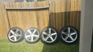 Jeep srt wheels 22 inch for Sale in Houston, TX