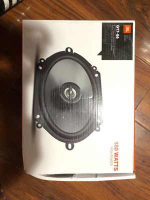 "JBL GT7-86 5""x7""/6""x8"" Coaxial Car Speaker AUTHENTIC Pair (GT786) for Sale in Irwindale, CA"