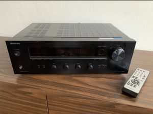 Onkyo Stereo Receiver with Preamp Phono Input for Sale in Long Beach, CA