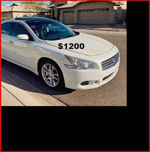 Price$1200 Nissan Maxima for Sale in Boston, MA
