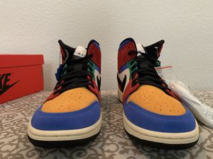 Air Jordan 1 mid fearless with proof of purchase size 9 for Sale in Pittsburg, CA