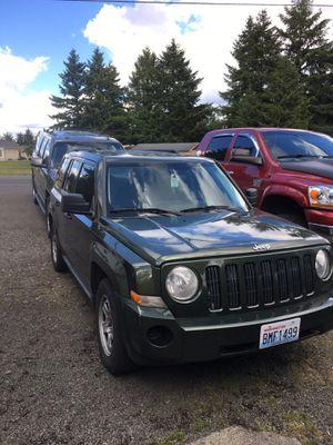 2008 Jeep Patriot for Sale in Rochester, WA