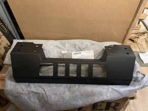 2007 - 2018 Jeep JK Wrangler Fab Fours Crash Bar Cover For Stubby Bumper Matte Black (209) - Part # GR1005-1 for Sale in City of Industry, CA