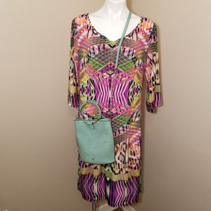 Mlle Gabrielle multicolor dress size 1X for Sale in Powder Springs, GA