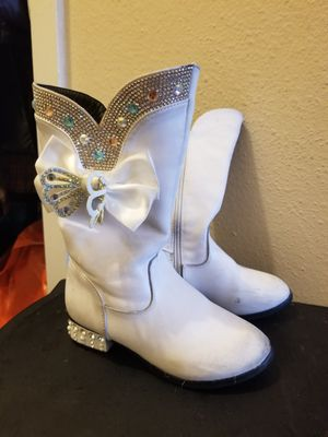 Princess boots size 12 for Sale in Raleigh, NC
