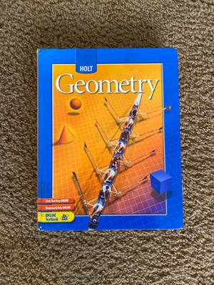 Holt Geometry textbook for Sale in Culver City, CA