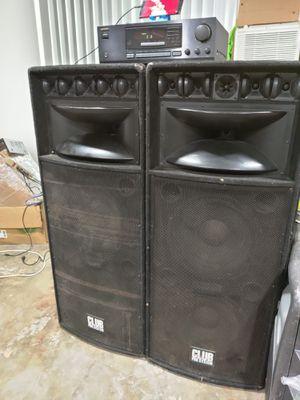 Bosinas speaker DJ house ONKYO receiver for Sale in Los Angeles, CA