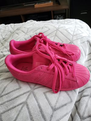 Adidas Superstars size 8 womens for Sale in Town and Country, MO