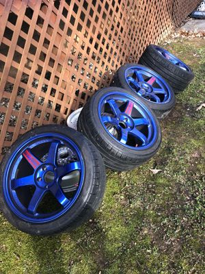 VOLKS RACING/RAYS Engineering 5x114.3 Wheels. for Sale in Rockville, MD