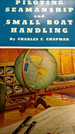 1963 - 64 piloting seamanship and small boat handling by Charles F Chapman for Sale in Laurel, MD