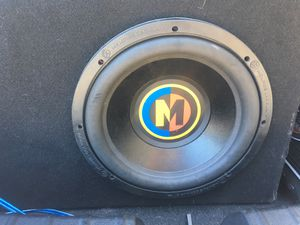 12' sub with two amps for Sale in Santa Ana, CA