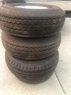 Tow Dolly Tire 5 Lug Trailer 5.70-8 for Sale in San Francisco, CA