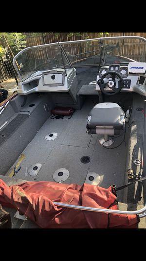 Boat 2016 Tracker pro v combo wt175 fish/ski for Sale in Stockton, CA