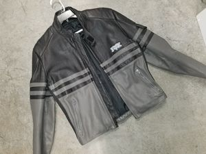 Large FOX Leather Motorcycle Jacket. for Sale in Anaheim, CA