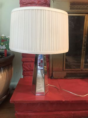 Mirrored base lamp for Sale in Tulsa, OK