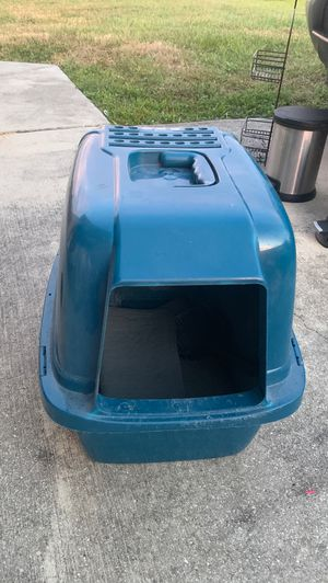 BLUE Small dogs or cats Box for Sale in Cape Coral, FL