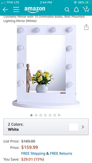 Makeup vanity mirror for Sale in Port Orchard, WA