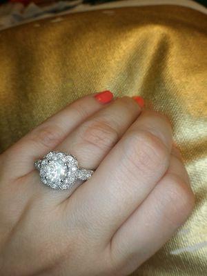 Halo diamond engagement ring for Sale in Atlanta, GA